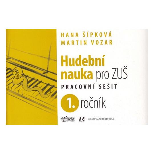 Hudební nauka pro ZUŠ prac. sešit 1.ročník M.Vozar