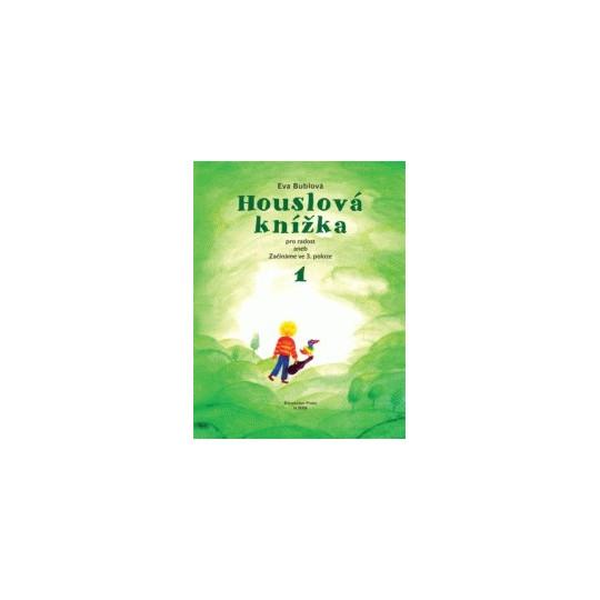 Houslová knížka 1 - Bublová