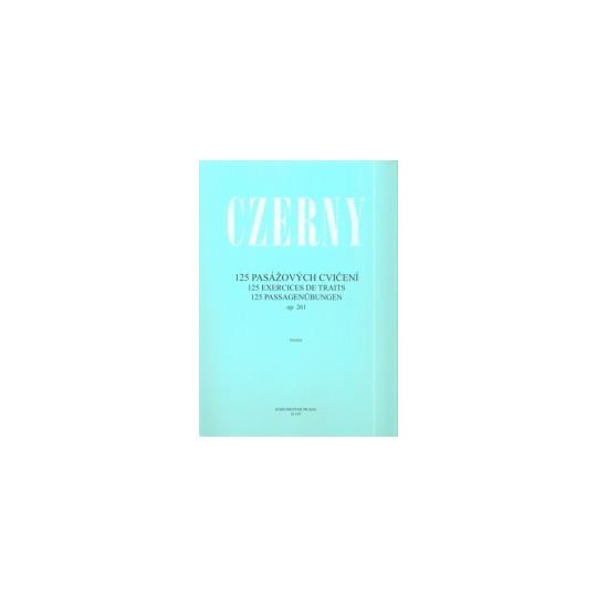 125 pasážových cvičení - Czerny