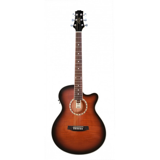 Ashton  SL 29CEQ TSB  - elektro - akustická kytara