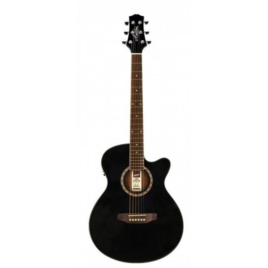 Ashton  SL 29CEQ BK  - elektro - akustická kytara