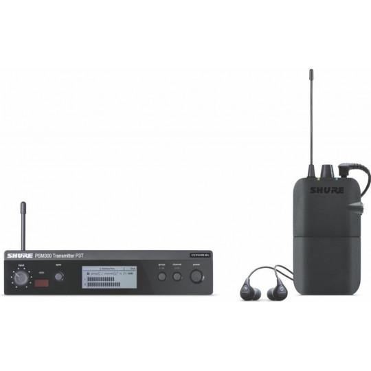 SHURE P3TER112GR - PSM300 stereo monitoring systém vč. SE112GR