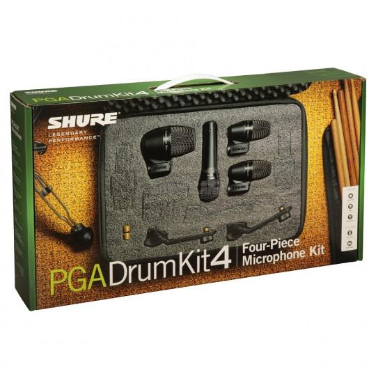 SHURE PGADRUMKIT4 - SADA PRO BICÍ. 2* PGA56, 1*PGA57, 1*PGA52  () (X)