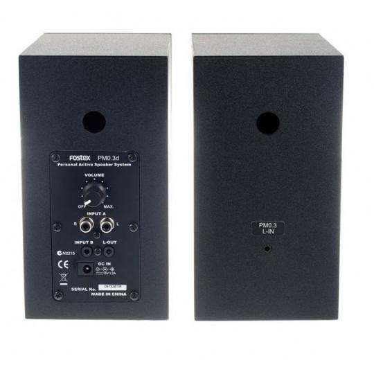 FOSTEX PM0.3d (W) -  aktivní monitor (pár)