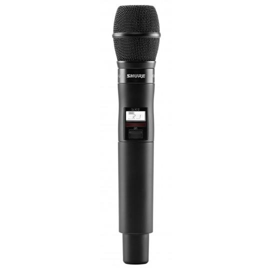 SHURE QLXD2/KSM9 - QLX-D ruční vysílač s mikrofonem KSM9