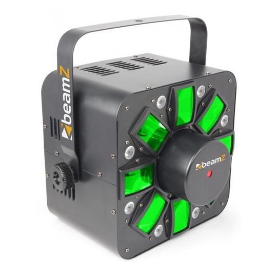 BeamZ Multi Acis III LED s laserem, DMX, světelný