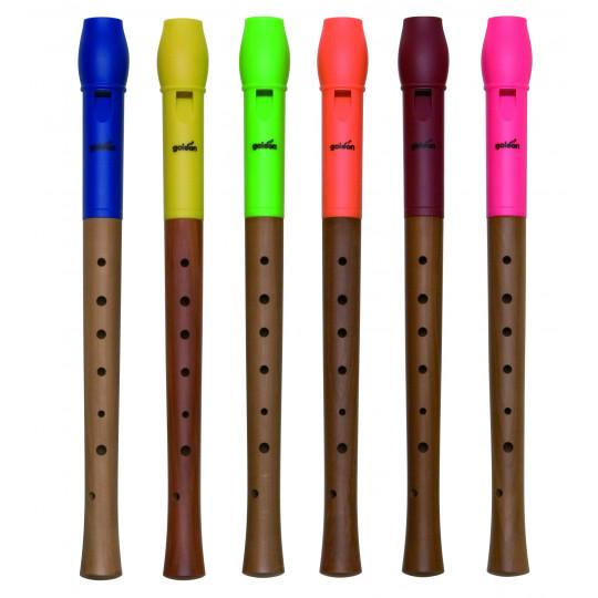 GOLDON - Flétna dřevěná/plastová (42000)