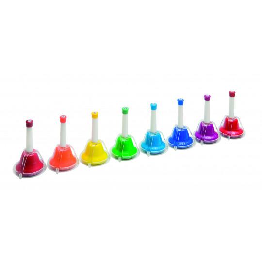 GOLDON - 10 kombinovaných zvonků v nylonové tašce (33898)
