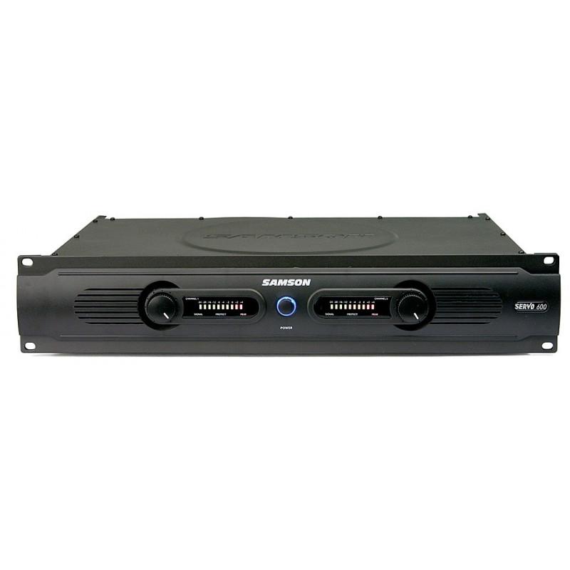 SAMSON Servo 600 - koncový stereo zesilovač