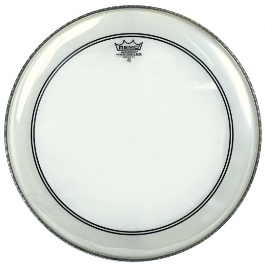 "Remo Powerstroke 3 Transparentní Bass drum 22"" P3-1322-C2"
