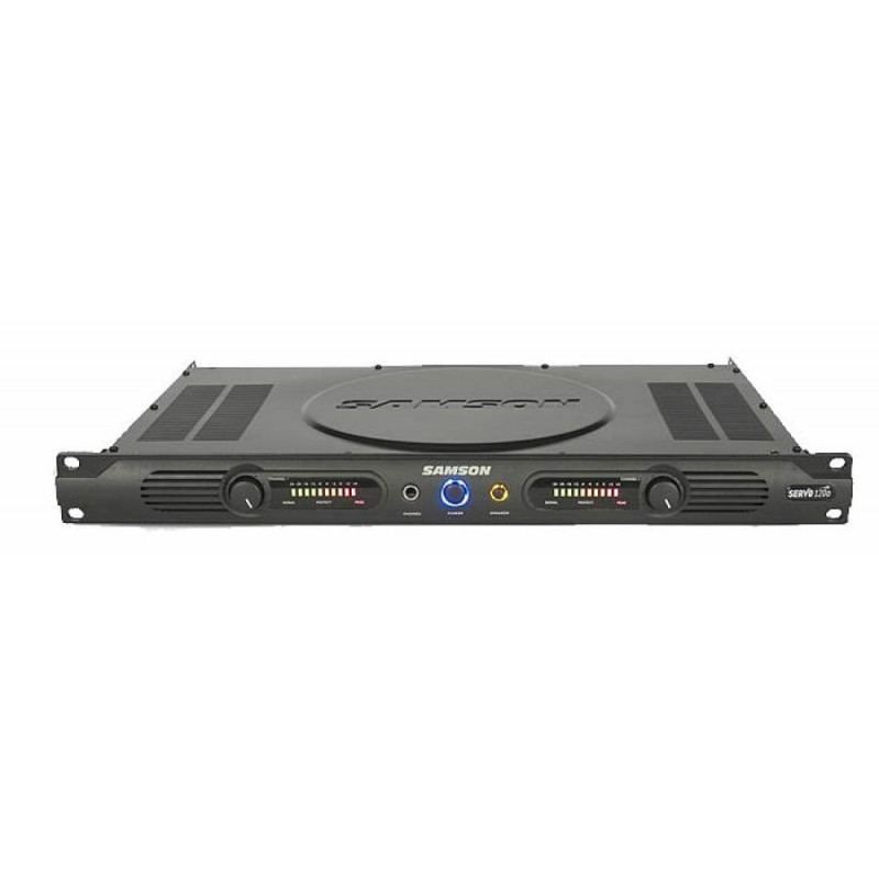 SAMSON Servo 120a - koncový stereo zesilovač