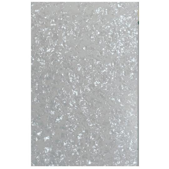 Partsland Úderová deska Plastová deska Perleť-bílá, 3-vrstvá