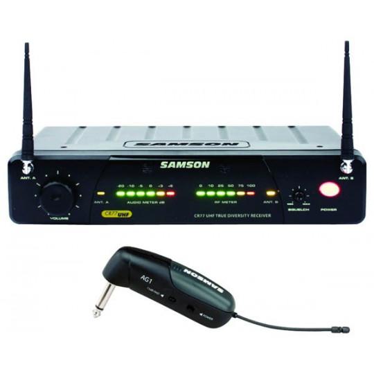SAMSON SW7ASGG - bezdrátový systém UHF pro kytaru a basu
