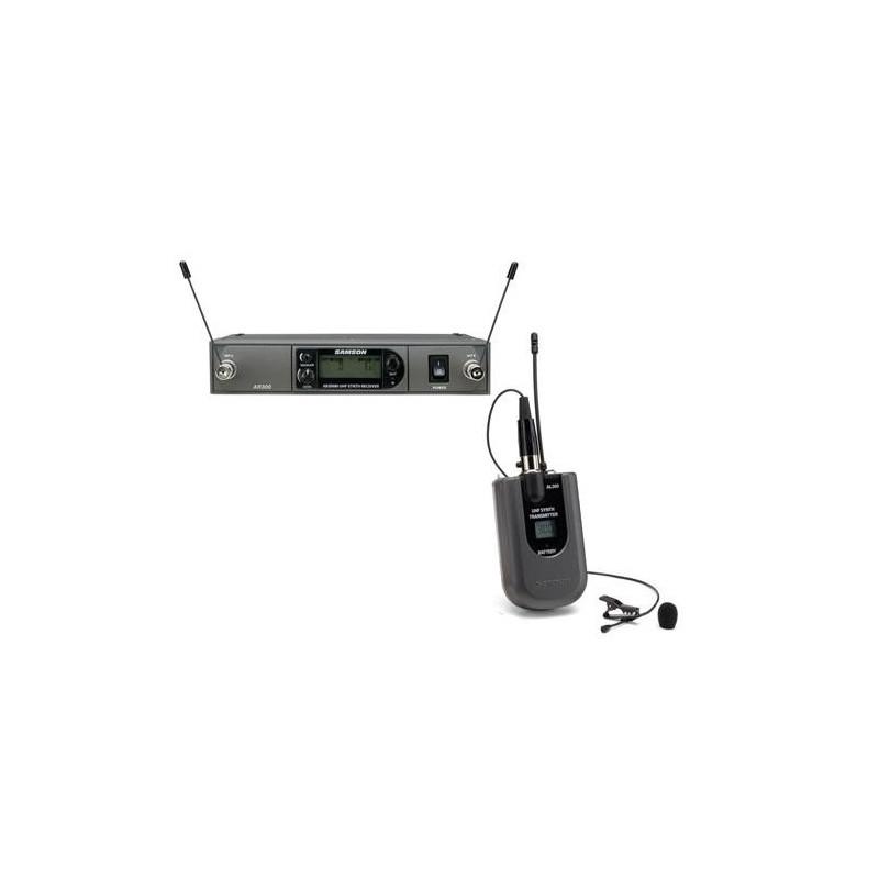 SAMSON SWSYSLM - bezdrátový systém s klopovým mikrofonem