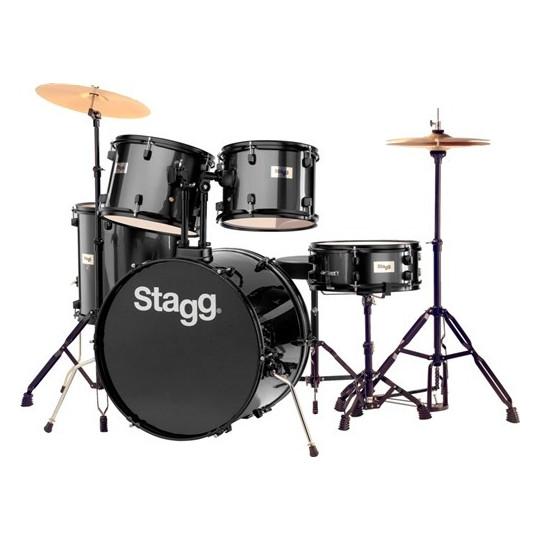 Stagg TIM122B BK, bicí sada, černá