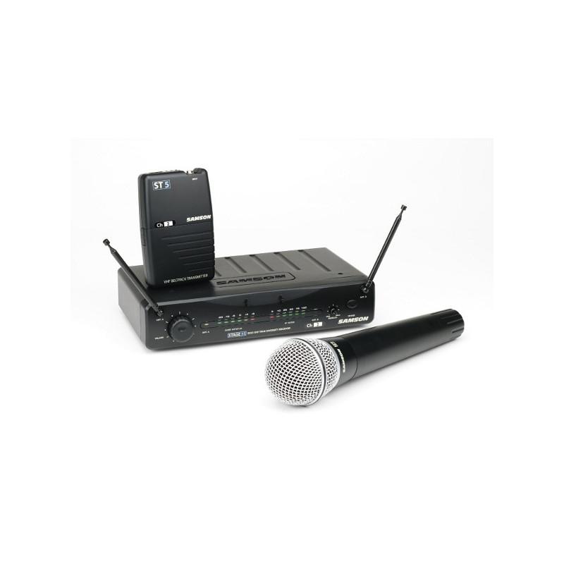 SAMSON SW55SHQ7 - bezdrátový systém pro mikrofon
