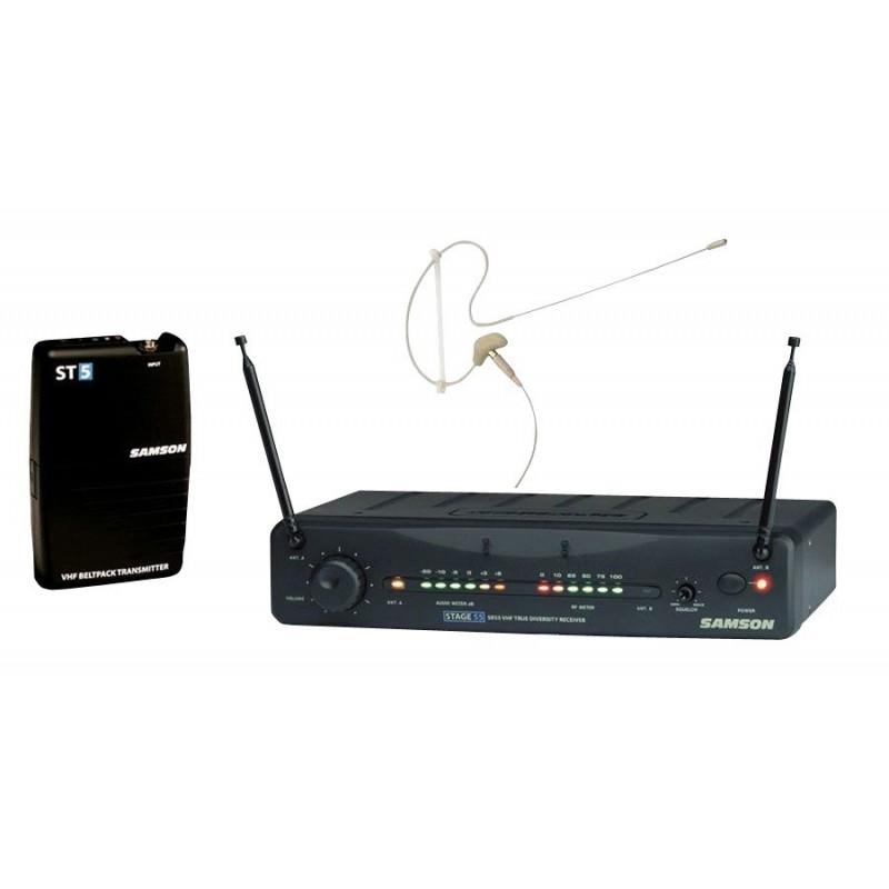 SAMSON SW55VSCS - bezdrátový systém s hlavovým mikrofonem