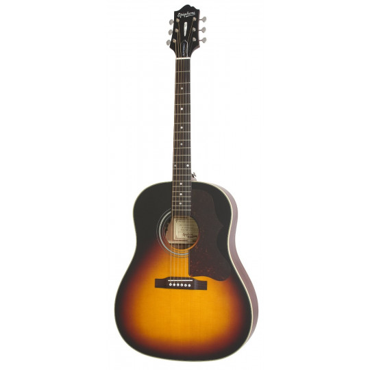 Epiphone Masterbilt AJ-45 ME elekroakustická kytara VINTAGE SUNBURST SATIN