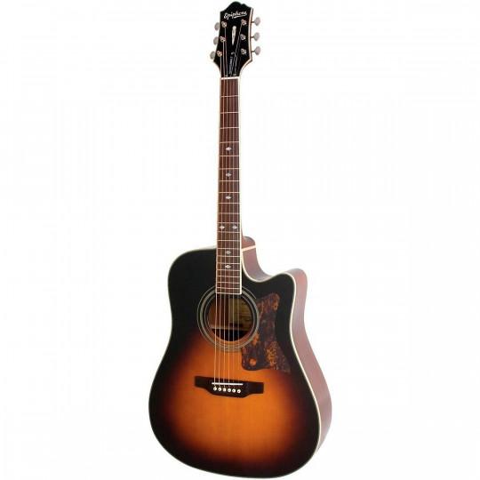 Epiphone Masterbilt DR-500MCE elektroakustická kytara VINTAGE SUNBURST