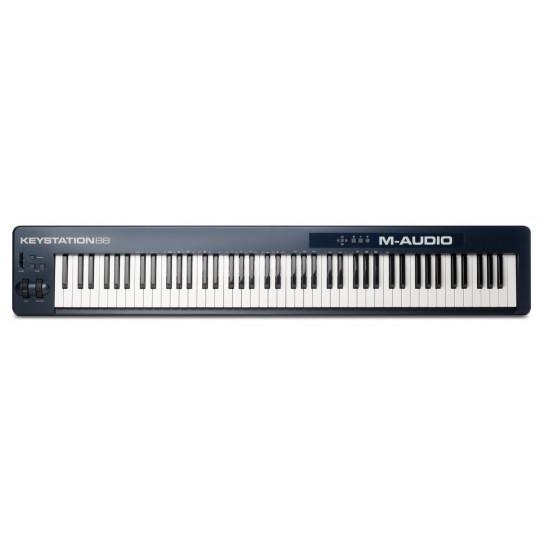 M-AUDIO Keystation 88 II -  88 kláves, USB, SW výbava