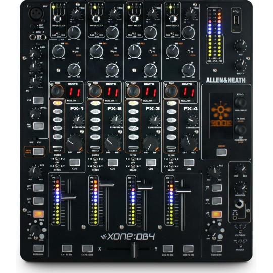 Allen&Heath XONE:DB4 digitální DJ mixážní pult