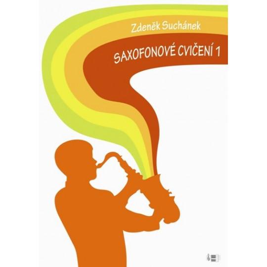 Saxofonové cvičení 1 - Suchánek Zdeněk-vyprodáno