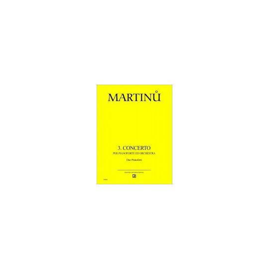 3. koncert - Martinů Bohuslav