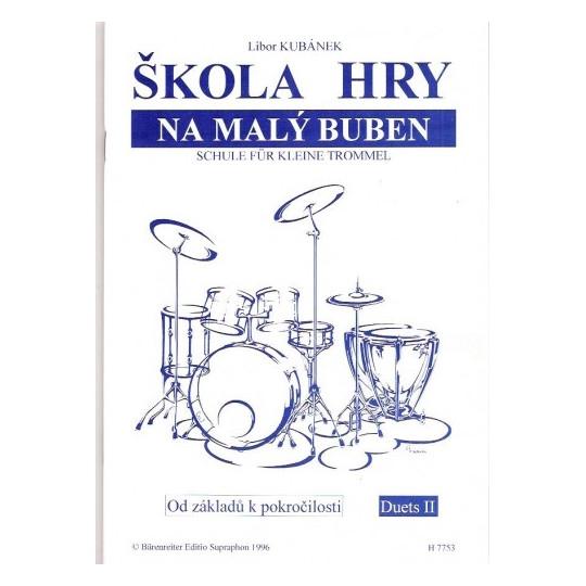 Škola hry na malý buben - Kubánek Libor
