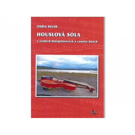 Houslová sóla v českých bluegrassových a country hitech + DVD - Kozák Ondra