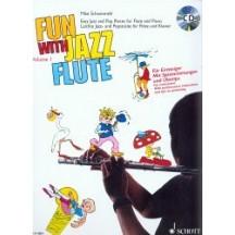 Zábavná jazz flétna 1 + CD - Schoenmehl Mike