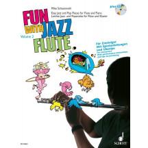 Zábava s jazzovou flétnou 2 + CD - Schoenmehl Mike