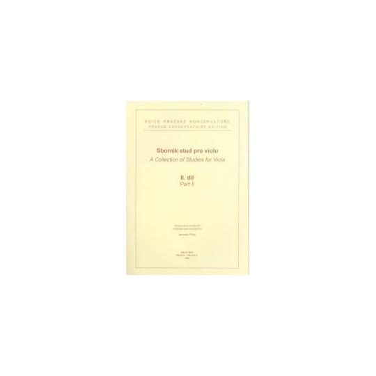 Sborník etud pro violu 2 - Ruis Jaroslav