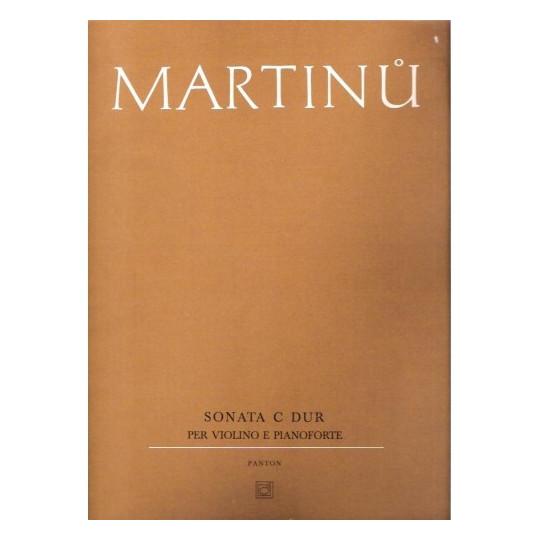 Sonáta C dur pro housle a klavír - Martinů Bohuslav