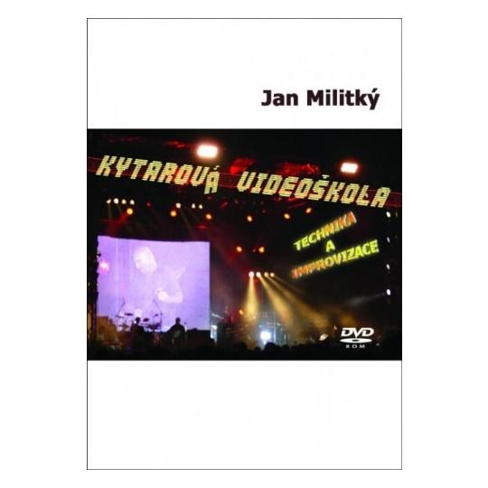 DVD Kytarová videoškola - Militký Jan