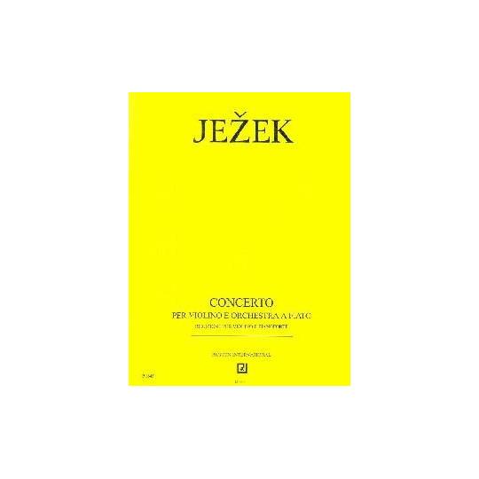 Koncert pro housle a dechový orchestr - Ježek Jaroslav