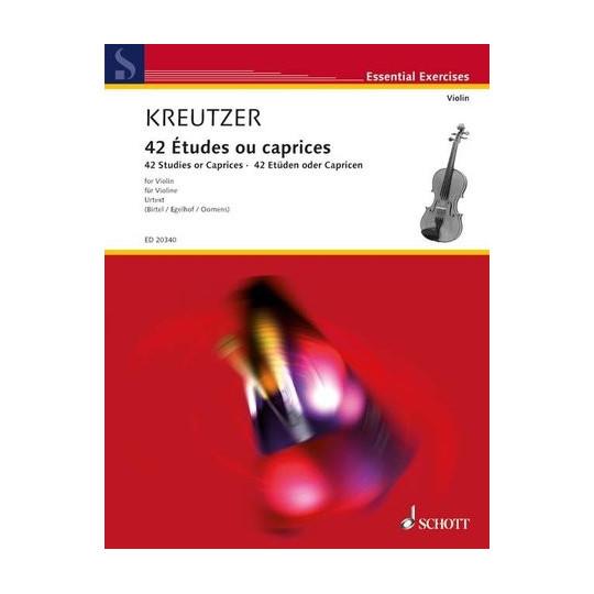42 etud - Kreutzer Rodolphe