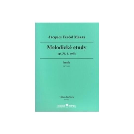 Houslové etudy op. 36 – díl 1. - Mazas Jacques