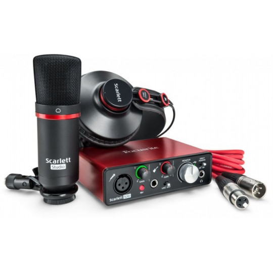 Focusrite Scarlett Solo Studio Pack - Bundle 2G