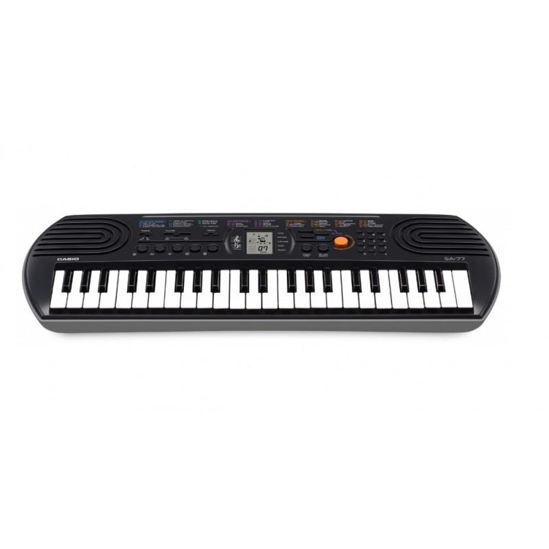 CASIO SA 77 - dětské klávesy, 44 kláves