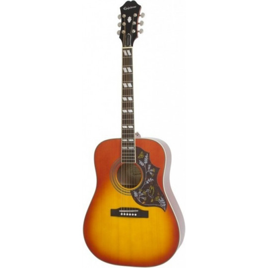 Epiphone HUMMINGBIRD PRO (Acoustic/Electric) FADED CHERRY SUNBURST