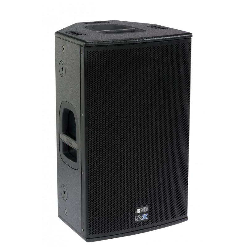 dB Technologies DVX D12 HP - 2-pásmový multifunkční aktivní reprobox, 700W
