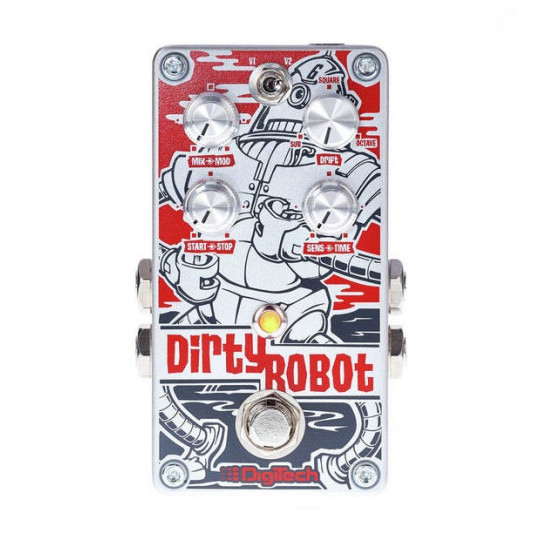 DigiTech DIRTY ROBOT Stereo Mini Synth pedál
