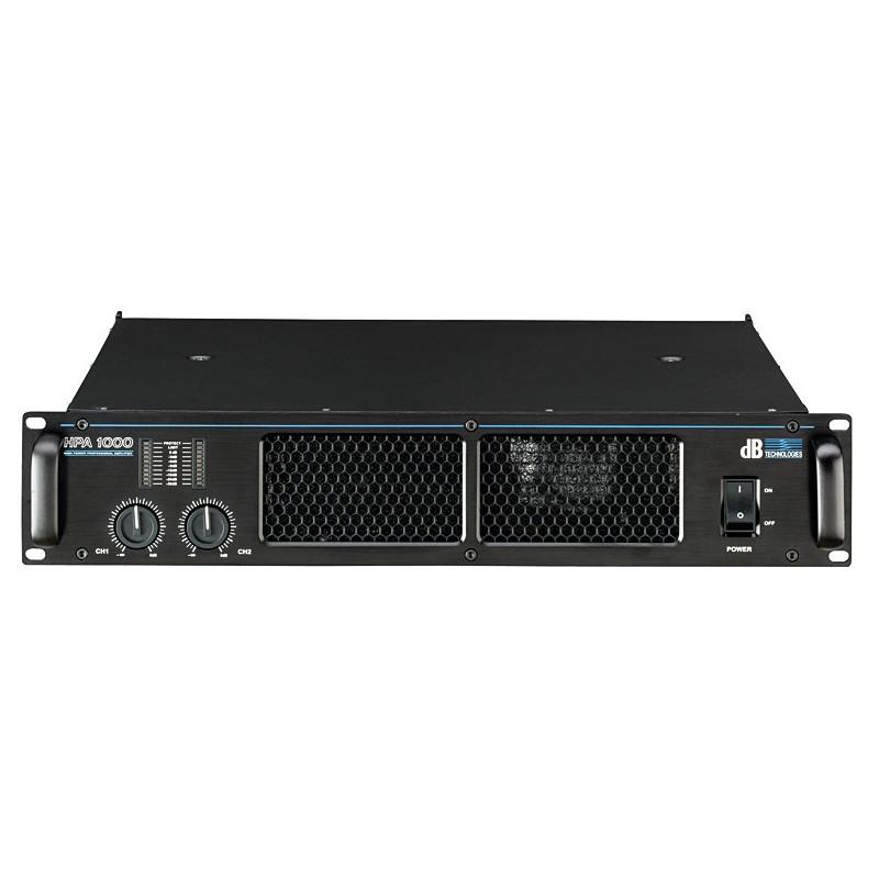dB Technologies HPA 1000 - koncový zesilovač