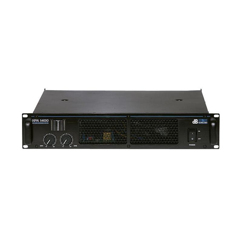dB Technologies HPA 1400 - koncový zesilovač