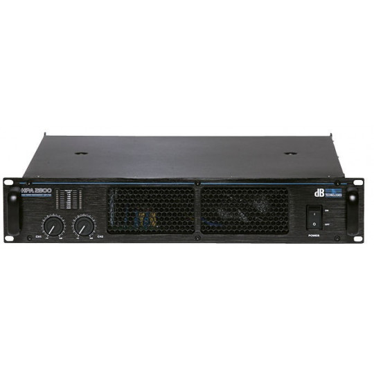 dB Technologies HPA 2800 - koncový zesilovač