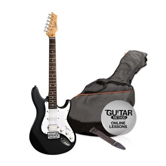 Ashton  AG232 BK Pack  - elektrická kytara paket