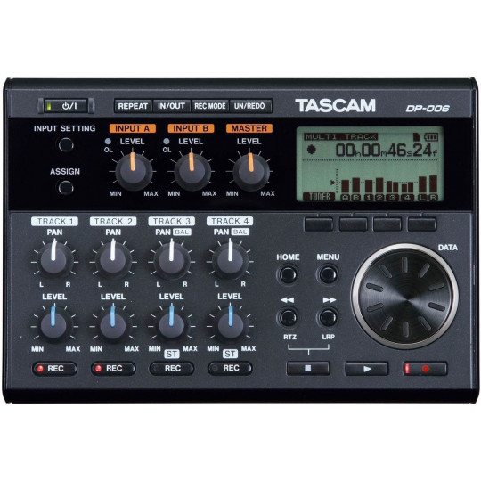 Tascam DP-006 přenosný 6track rekordér