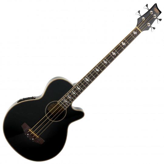 C. Cantabile AB-40 EQ akustická baskytara, černá