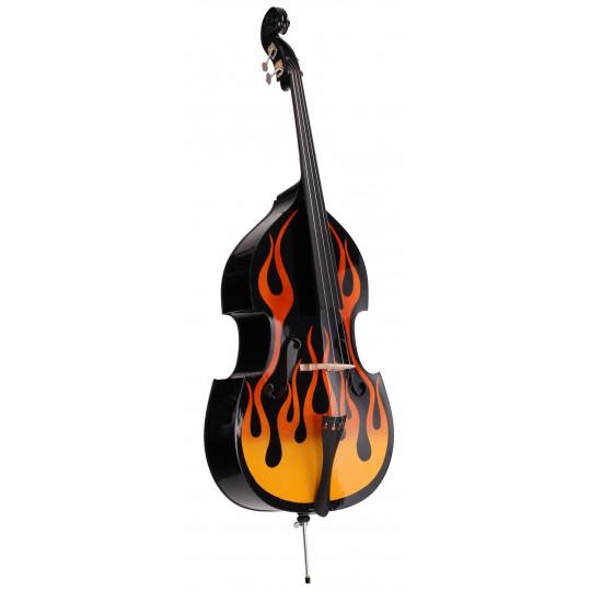 Proline Kontrabass 3/4 -Flames