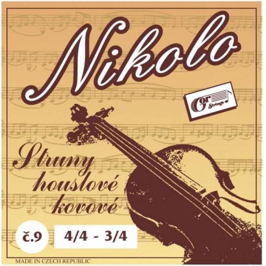 Gorstrings NIKOLO 9 struny na housle